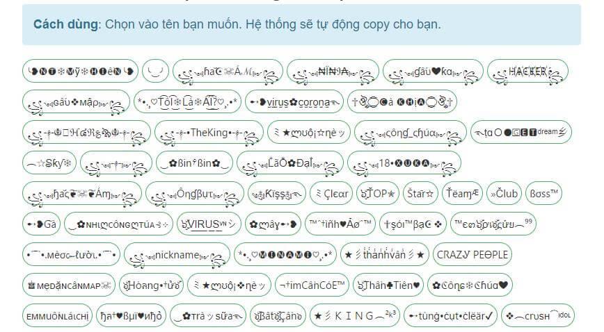 Tạo KÍ TỰ ĐẶC BIỆT cho tên game ĐẸP – ĐỘC nhất Việt Nam