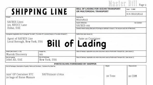 BL (Bill of lading) là gì? Tổng hợp các loại vận đơn đường biển hiện nay