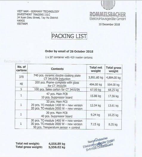Packing list là gì? Các mẫu phiếu Packing list phổ biến hiện nay
