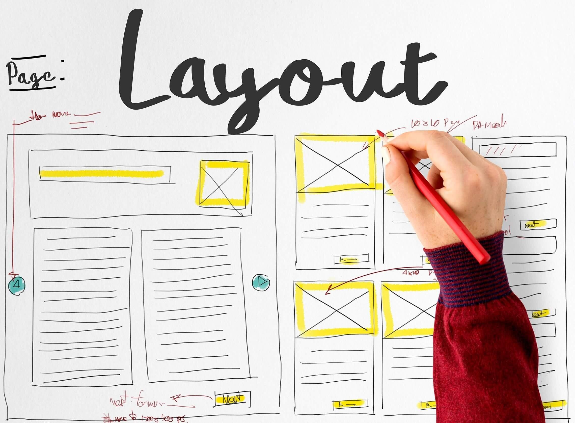 Layout là gì? Một số quy tắc thường gặp trong thiết kế Layout nên biết